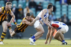 AFL 2021 Round 09 - Hawthorn v North Melbourne