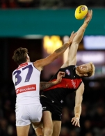 AFL 2021 Round 09 - Essendon v Fremantle