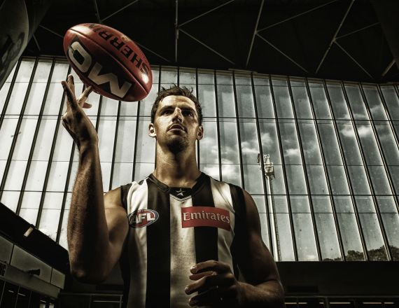 AFL 2014 Portraits - Collingwood