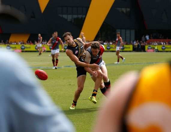 AFL 2014 Practice Match - Richmond v Essendon