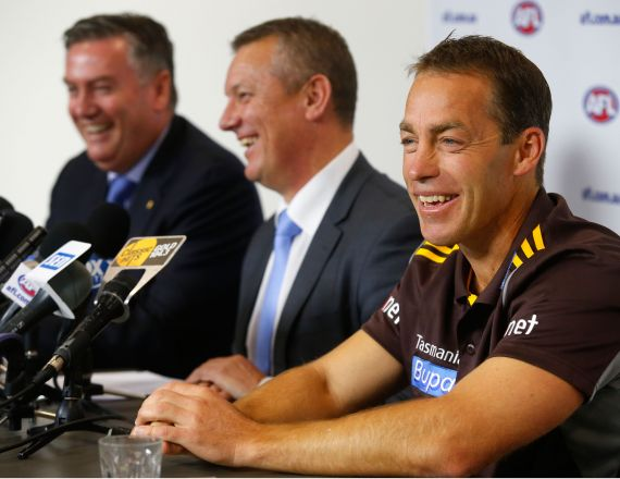 AFL 2014 Media - International Rules Coaching Announcement
