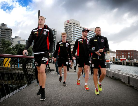 AFL 2014 Media - St Kilda Media Session 230414