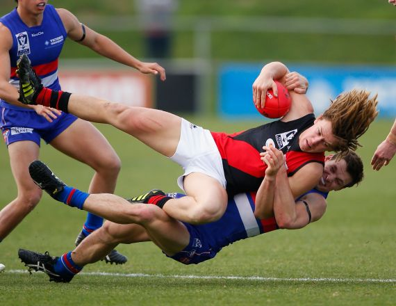 VFL 2014 Rd 15 - Footscray v Essendon