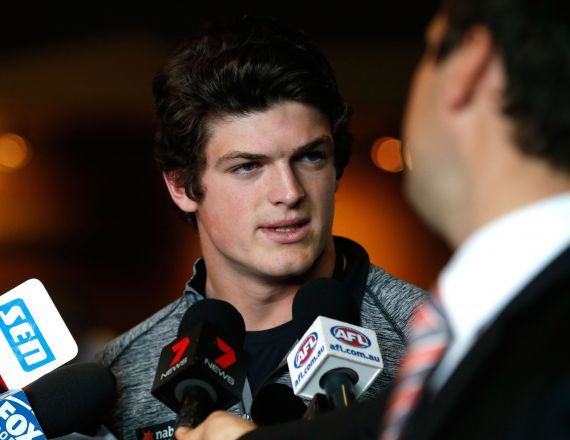 AFL 2014 Media - NAB AFL Draft Comb