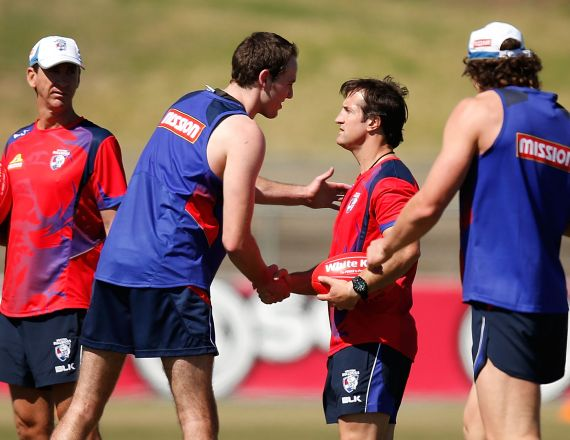 AFL 2014 Training - Western Bulldogs 191114