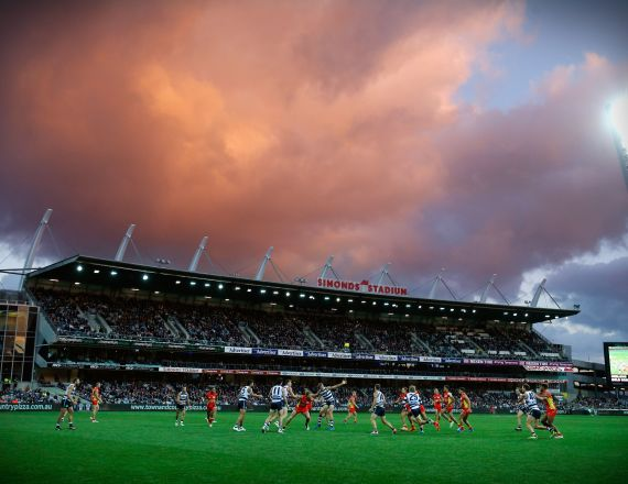 AFL 2015 Rd 03 - Geelong v Gold Coast, general view