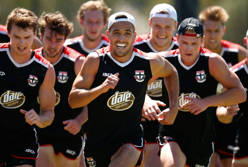 AFL 2016 Training - St Kilda 050216