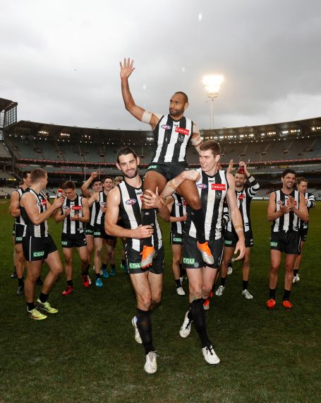 AFL 2018 Round 22 - Collingwood v Port Adelaide