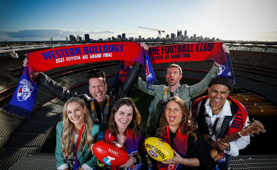 AFL 2021 Media - Grand Final Entertainment Photo Opportunity
