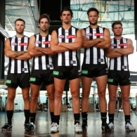 AFL 2016 Media - Collingwood Leadership Group