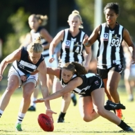 VFLW 2018 Round 02 - Collingwood v Geelong