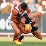 AFL 2020 Marsh Community Series - Carlton v Brisbane