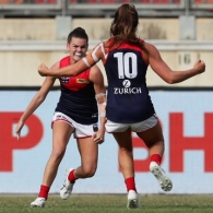 AFLW 2020 Semi Final - GWS v Melbourne