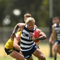 AFL 2020 Training - Richmond v Geelong Scratch Match