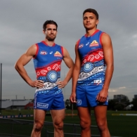 AFL 2021 Media - Western Bulldogs Indigenous Guernsey