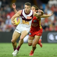 AFL 2021 Round 09 - Gold Coast v Brisbane